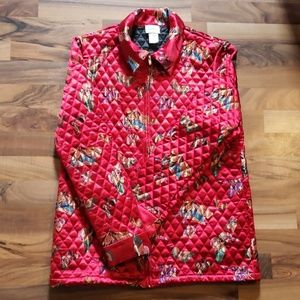 Neiman Marcus Vintage Butterfly Quilted Jacket